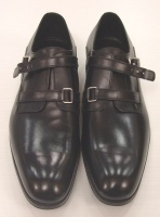 Christian Dior Men's Black Leather oxford Shoes