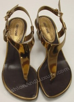 Roberto Cavalli Woman's Brown Thangs Sandals Tip Toe Shoes